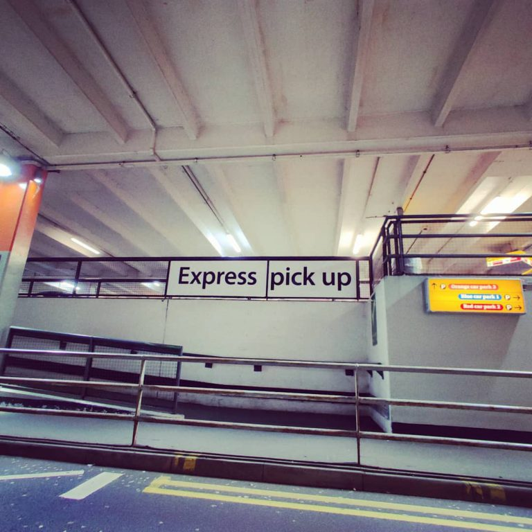 Gatwick Express pick up at south terminal