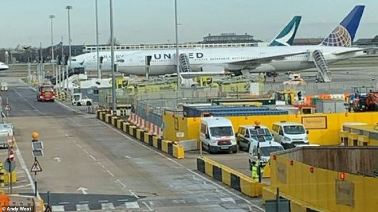 Planes lockdown at Heathrow